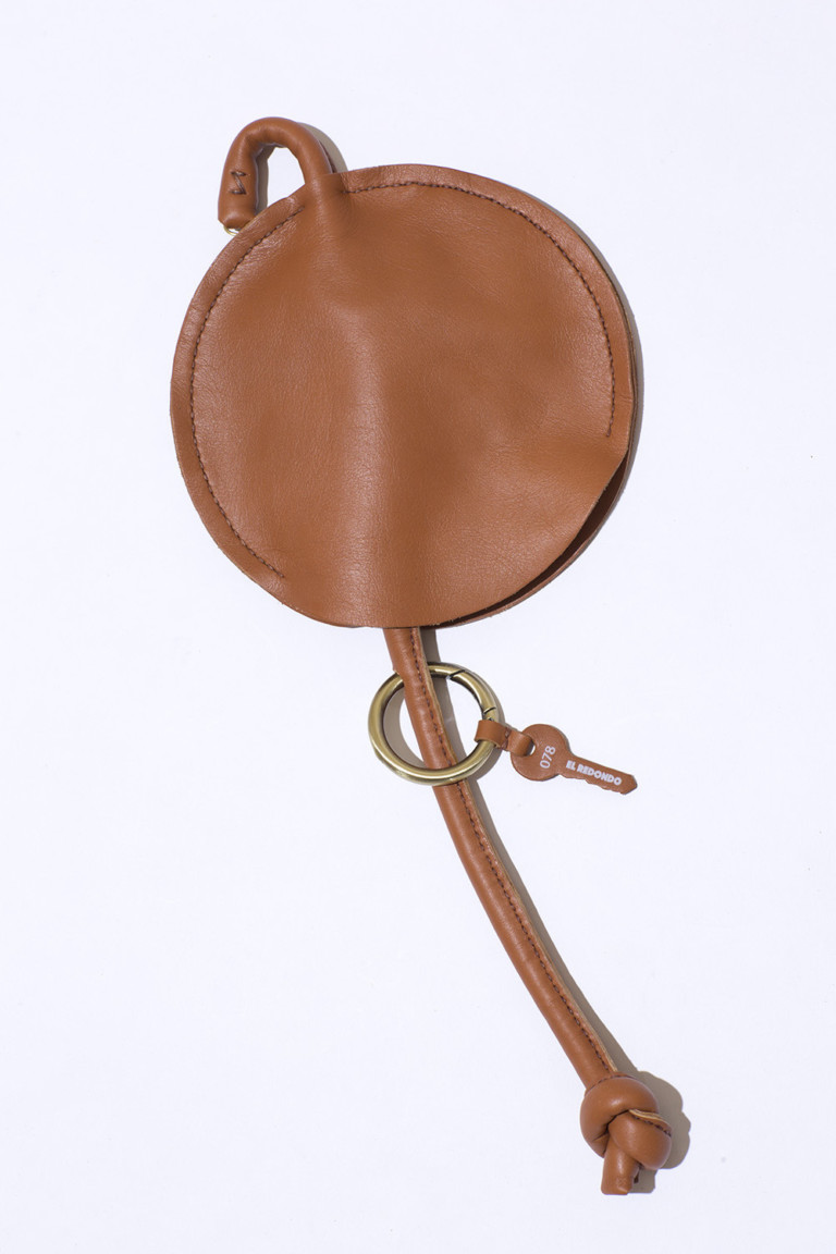 LUBOCHKA El Redondo Clutch Brown